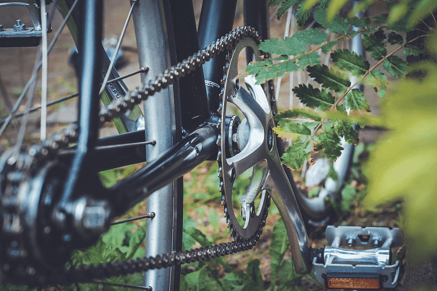 ZizeBikes - How to Fix a Slipped Bicycle Chain - bicycle chain png