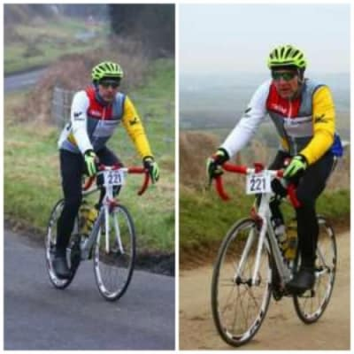 ZizeBikes - Featured Success Story of the Month: Mark Loses Half His Weight! - weight_loss_success_story_cycling.1.1.1.1