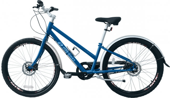 ZizeBikes - Re-Cycled, Time of Your Life - TOYL 2.0 blue left side