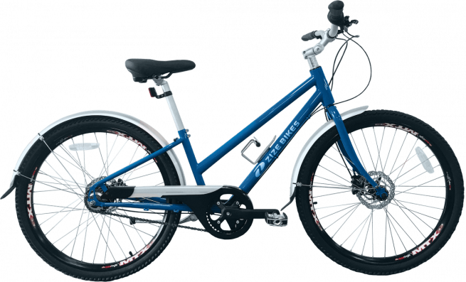 ZizeBikes - Re-Cycled, Time of Your Life - TOYL 2.0 blue right side