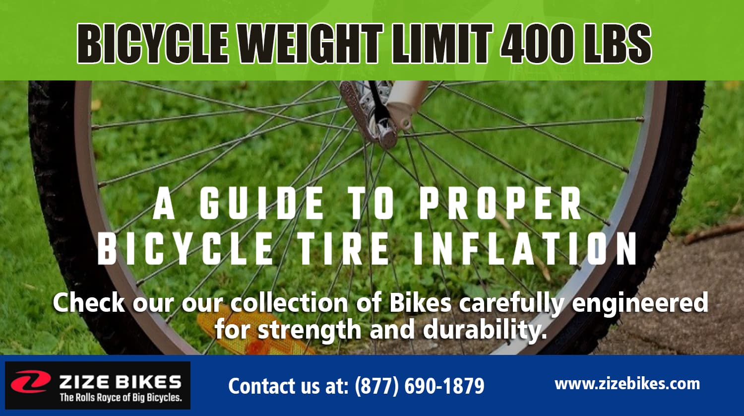 Bicycle weight limit 400 lbs