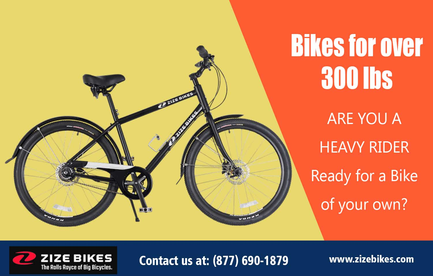 Bikes for over 300 lbs