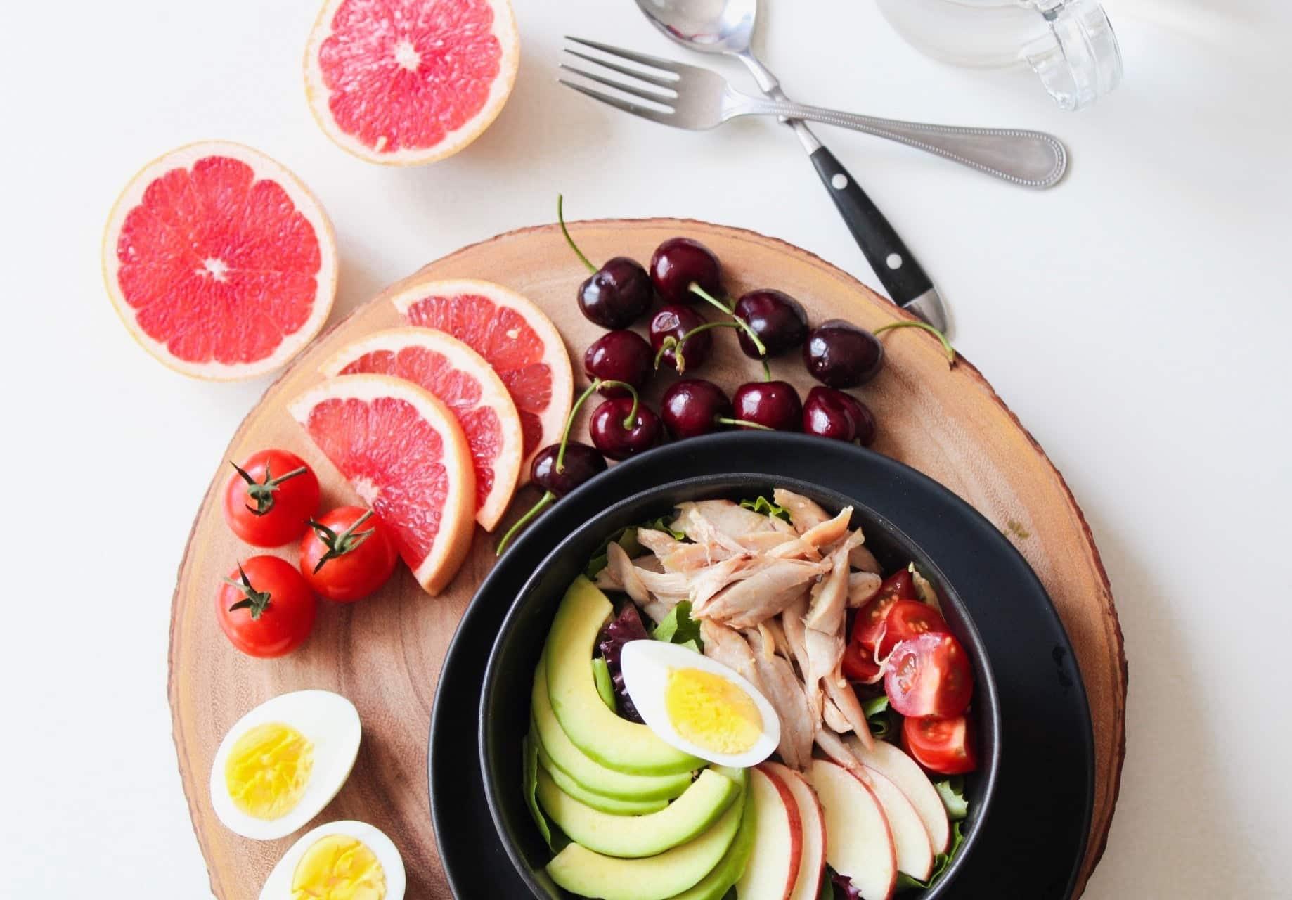 bowl-cherries-chicken-936611
