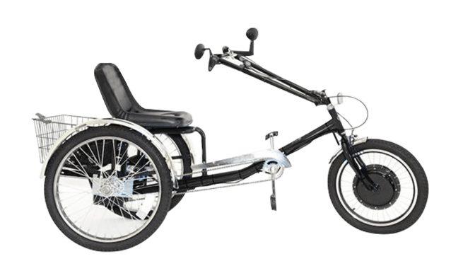 ZizeBikes - Supersized Personal Activity Vehicle | Tricycle e-bike - Gloss black