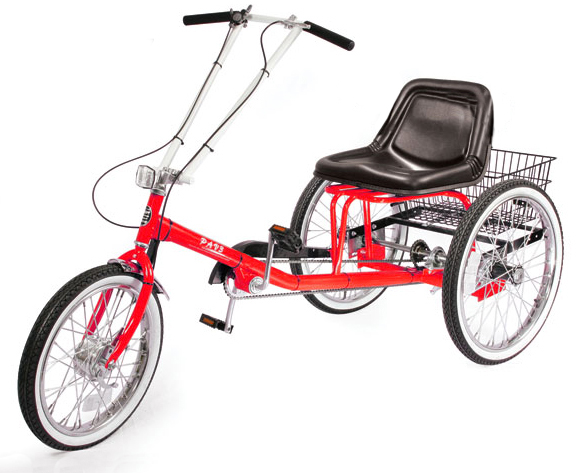 ZizeBikes - Supersized Personal Activity Vehicle | Tricycle - Racing red