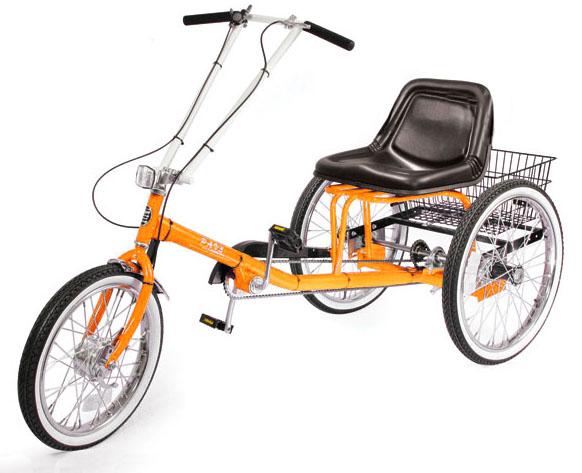 ZizeBikes - Supersized Personal Activity Vehicle | Tricycle - orange