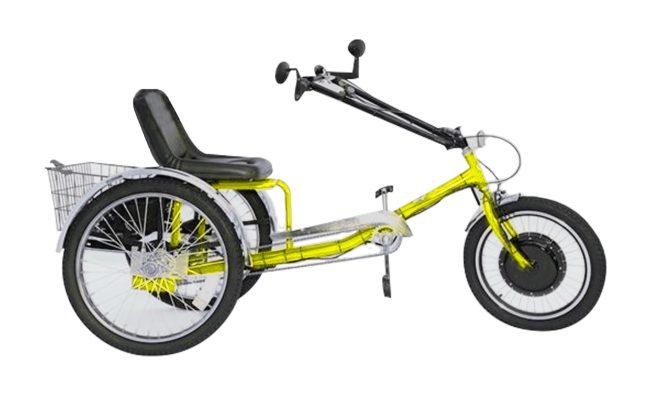 ZizeBikes - Supersized Personal Activity Vehicle | Tricycle e-bike - yellow