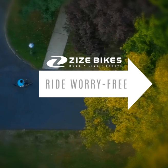 ZizeBikes - R.I.D.E.S Program - worry-free