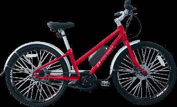 ZizeBikes - Time Of Your Life XG E-bike - TOYL-1-red