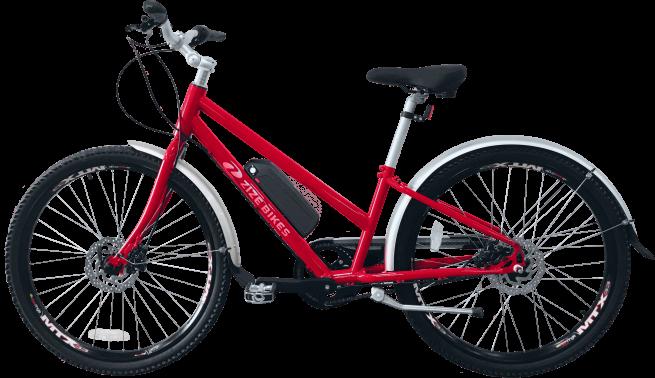 ZizeBikes - Time Of Your Life XG E-bike - TOYL 2 red
